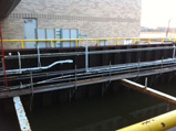 Blasted & Coated An Intake Canal at a Power Generation Plant