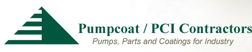 Pumpcoat / PCI Contractor Specialists | Pumps, Parts and Coatings for Indusry